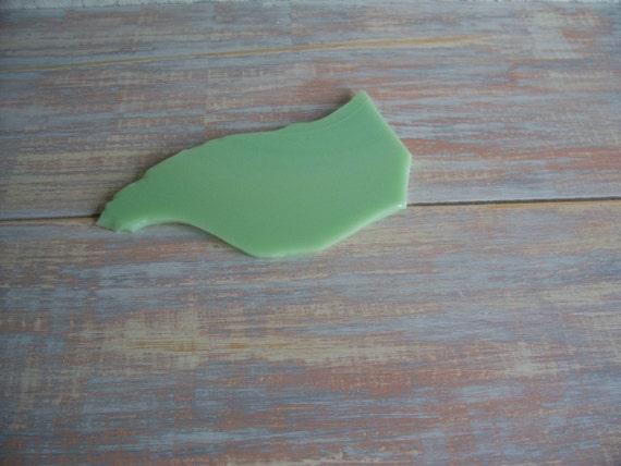 Jadeite craft pieces- Free Shipping
