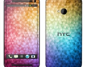 HTC One Case Decal Skin Cover - Kaleidoscope