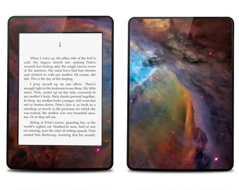 Amazon Kindle Paperwhite Skin Cover - Nebula - Kindle Cover, Kindle Paperwhite Cover
