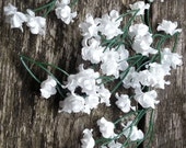 Silk Flower - 20 baby's breath - Tiny White Flowers