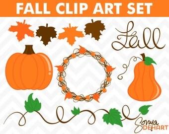 80% OFF Sale Pumpkin Clipart, Pumpkin Clip Art, Pumpkin Graphics, Fall Clipart, Fall Clip Art, Fall Graphics, Thanksgiving Clipart