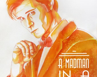 Doctor Who Art Print: The Eleventh Doctor