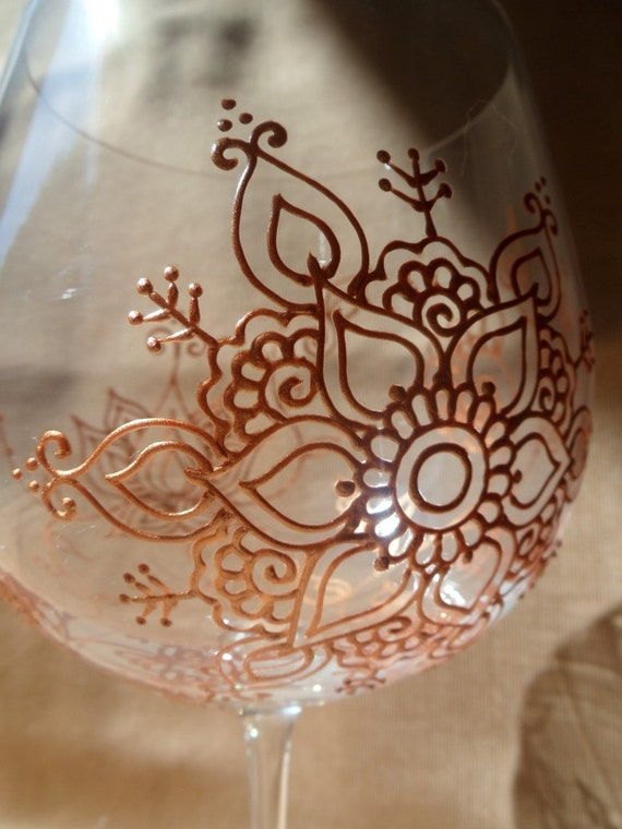 Flower Wali Mehndi : Items similar to lotus flower mehndi style designs wine