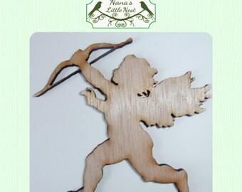 Cupid / Love / Valentine / Wood Cut Out - Laser Cut