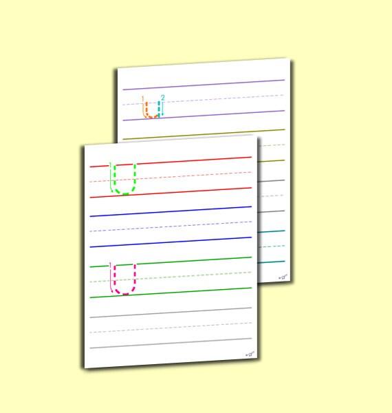 letter a worksheets for pre k