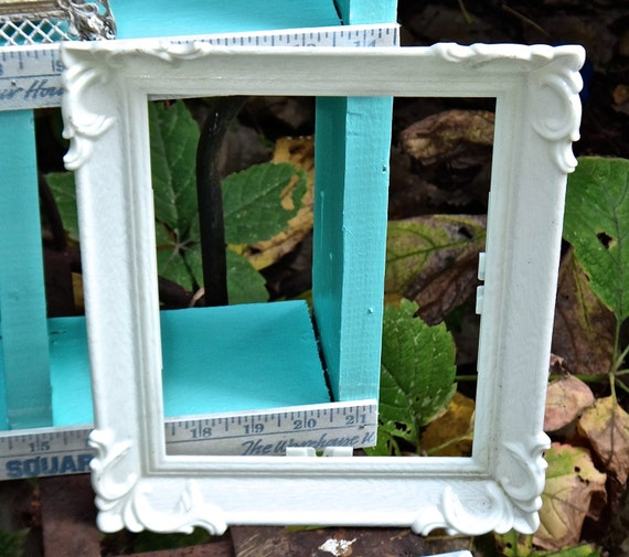 Picture Frame Pittsburgh Statuary White Ornate Plastic Vintage Frame ...
