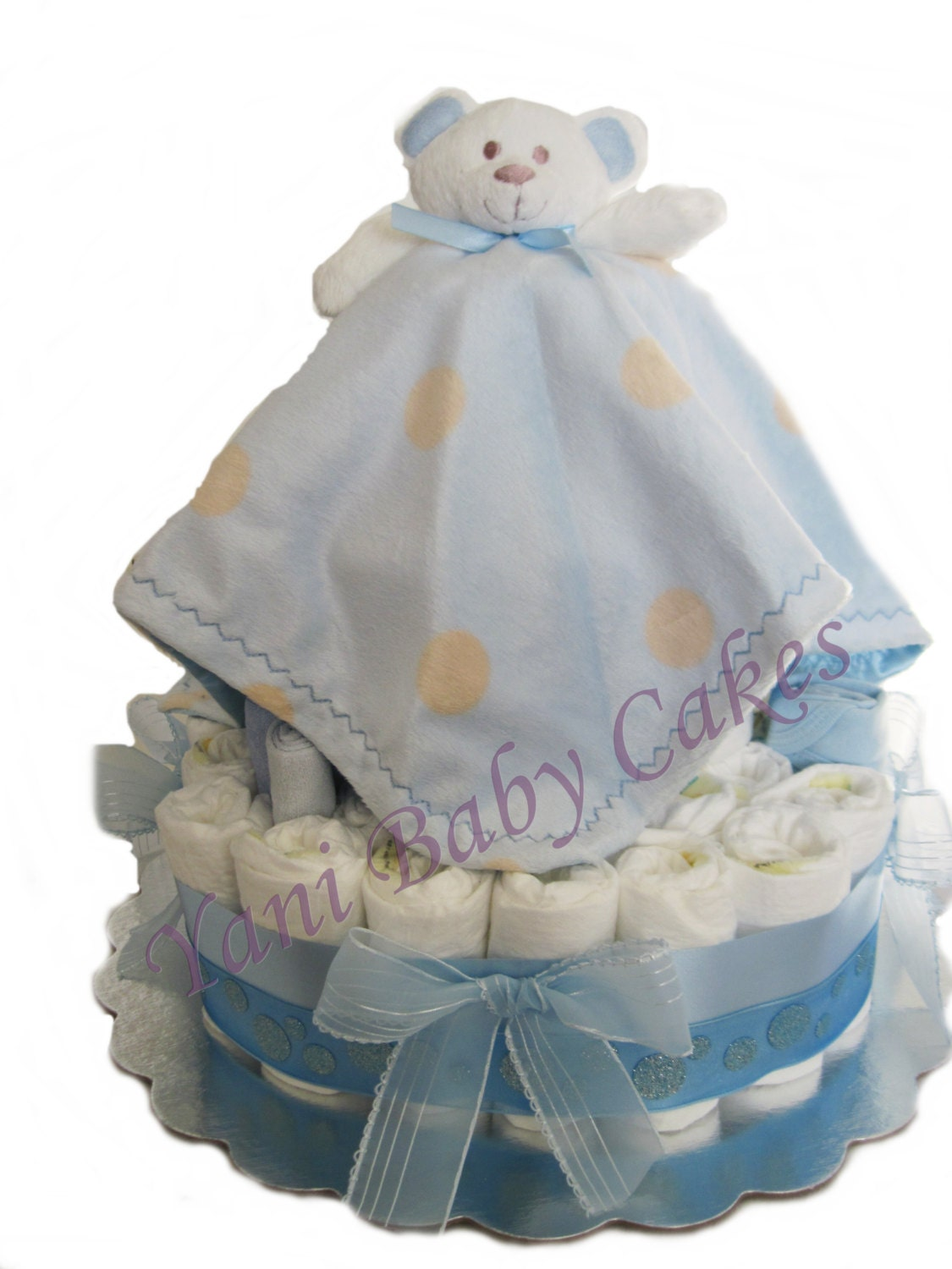 Unique Baby Shower Centerpiece Sale Teddy Bear Blanket