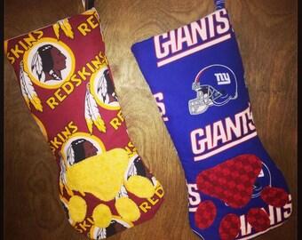 NFL Team Dog Stocking