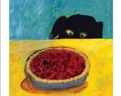 Eye on the pie/ print