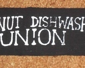 Wingnut Dishwashers Union Logo Patch