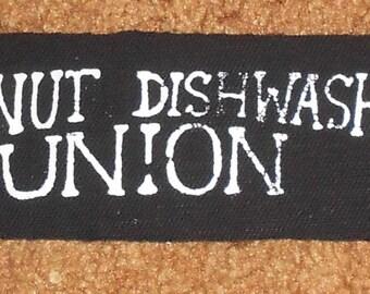 Wingnut Dishwashers Union Logo Patch
