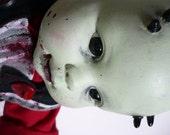 HALLOWEEN Demon Zombie Reborn Doll Horror Art by Darkling Designs
