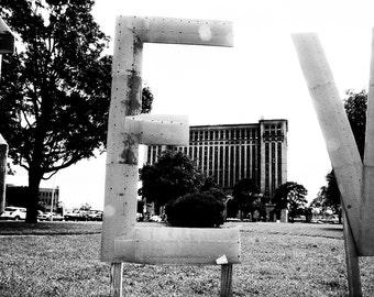 Detroit Michigan Station Roosevelt Park Unframed Photo