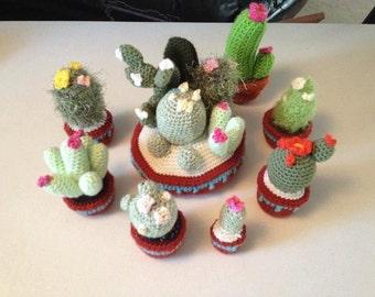 Crochet Cactus Gardens