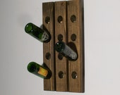 Wine Riddling Rack Wall Hanging 12 Bottle Winerack