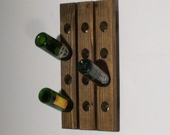Wine Riddling Rack Wall Hanging Wine Rack