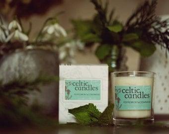 Peppermint & Cedarwood Essential Oil Candle - Medium