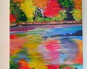 Original painting - Autumn River