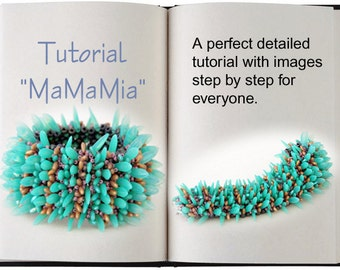 Jewelry Tutorial.... MaMaMia... Bracelet