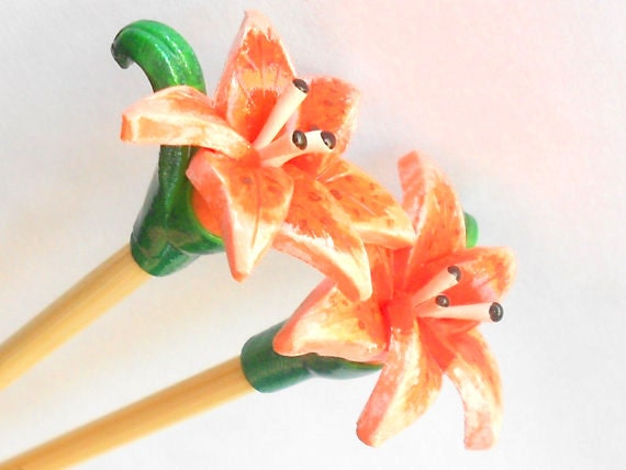 Tiger Lily Knitting Needles