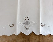 Antique hand towel