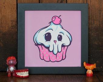 Cuppin' Cake Screen Print