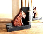 Scotty Dog Bookends Vintage Home Decor 1940's Scottie Collectible