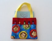 Curious George Children's Crayon Bag and Customized Paper, Birthday Party Favor