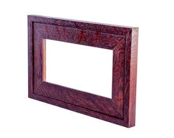 """4""""x8"""" Mission style quarter-sawn fumed White Oak tile frame"""