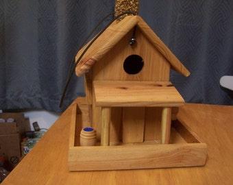 Cypress shack birdhouse