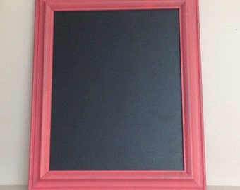 """Bright Color Framed Chalkboard 8"""" x 10"""" Use at home, work, for weddings, parties, kids, etc"""