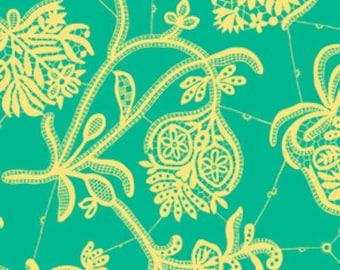 Amy Butler Fabric - LARK 1 Fat Quarter Souvenir in Mineral