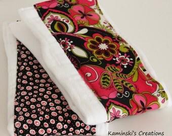 Burp Cloths, Set of 2
