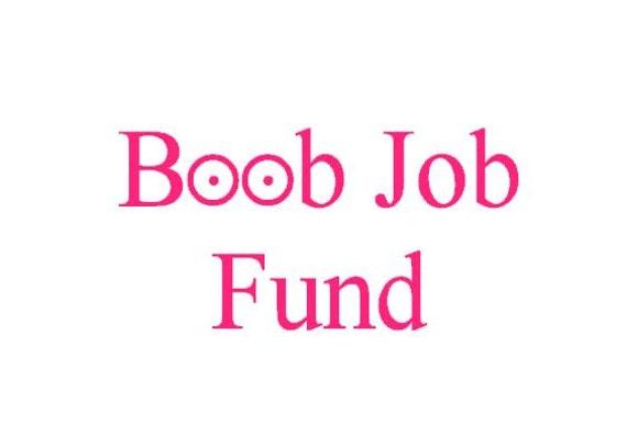 Boob Job Money Jar 16