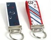 Nautical Key Chain Wristlet, Key Fob