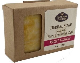 Fruit Fusion All Natural Herbal Soap Bar 4oz