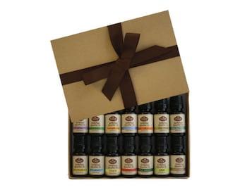 Starter Gift Set (Includes 14-10ml 100% Pure Therapeutic Grade Essential Oils)