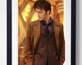 Allons-y - 10th Doctor Who Print