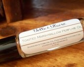 Pheromones Formula- Toasted Marshmallow Perfume Oil- Marshmallow, Campfire Smoke- BEST SELLING SCENT-Roll On Perfume