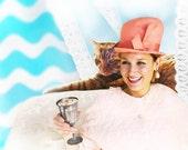 Vintage Ritz Hat Henry Pollak Glenover Hat Cloche Hat Bucket Hat Coral Salmon Colored Wool, Mad Men Hat
