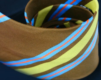 Vintage Mens Striped Tie Chadwicks by Wembly