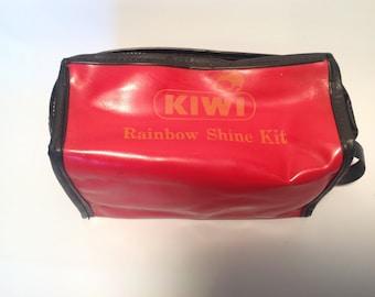 Kiwi Rainbow Shoe Shine kit