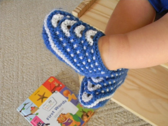 Knitting Pattern PDF for Seamless Slip-Stitch Slippers for