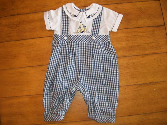 Size 3 Months Vintage Carriage Boutiques Infant Baby Boy