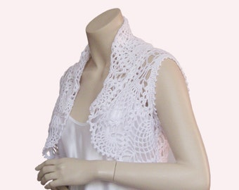 Weddings shrug,White Weddings Bolero,Lace weddings shrug,Bridal Bolero,,Hand Crochet Lace Shrug,Weddings clutch