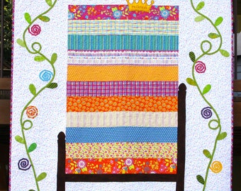 Quilt Pattern for The Princess and the Pea - Twin Size