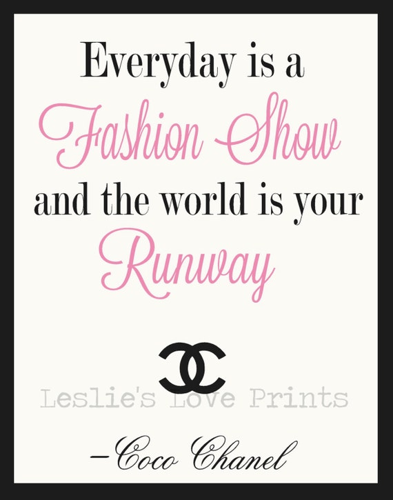 Coco chanel fashion show