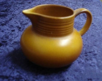 Fabulous SATINWARE POTTERY JUG English Satinware Pottery Jug Made in England Number 522