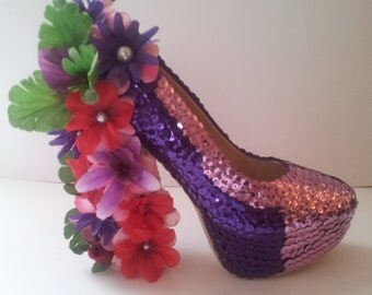 Miss Beccy May Customized Heels