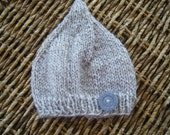 Wool Eco baby hat 0-3 months